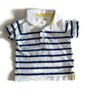⭐️3 for $12⭐️ Carter's polo shirt *Size 3mos